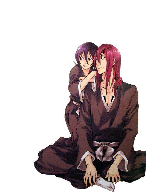 Rukia et Renji - Bleach