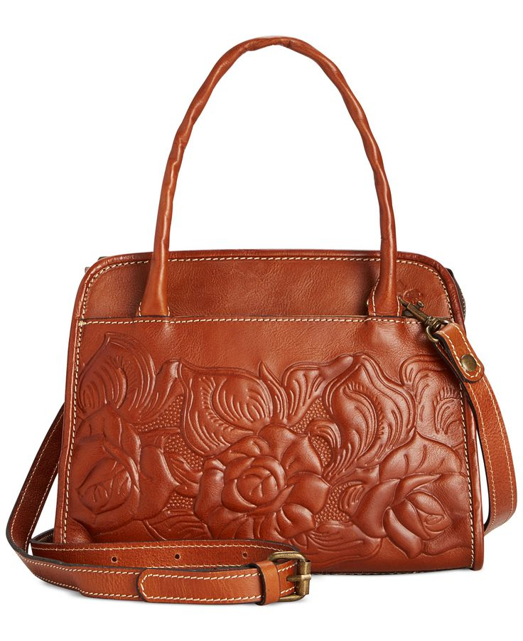 Patricia Nash Tooled Rose Paris Satchel - Handbags & Accessories - Macy's