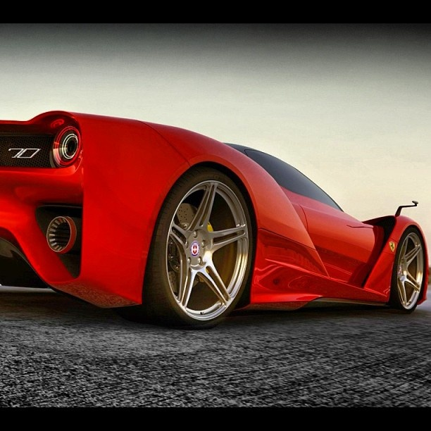 Soon to be released - the much anticipated Ferrari F70