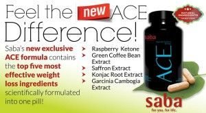 The New ACE - SABA's Improved Formula | How to Lose Weight Fast - ACE Diet Pills  SABA's new ACE Diet Pill formula contains the top five most effective weight loss ingredients scientifically formulated into one pill!