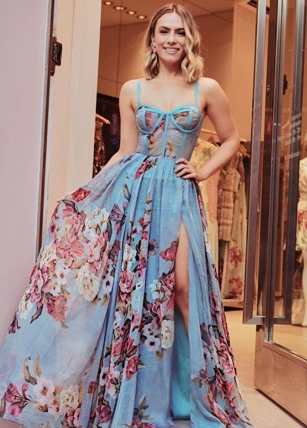 15 vestidos de festa longo estampados | Vestidos longos estampados, Vestidos estilosos, Vestido de festa estampado