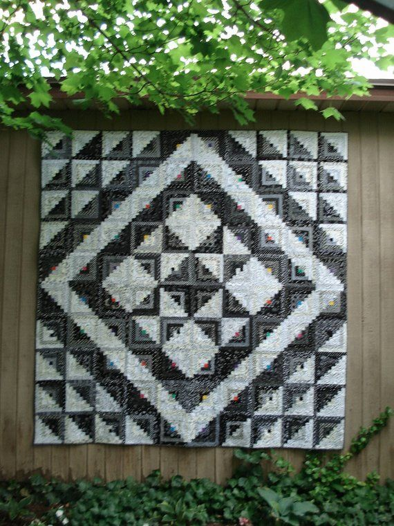 Starring Log Cabin Quilt Pattern