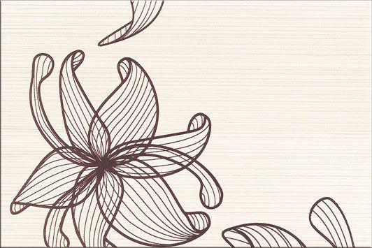Faianta Maro cu Flori mari decorative cu model linii subtiri este rezistenta, de calitate si in acelasi timp elganta, moderna sau clasica. Vezi Colectia! Preturi!