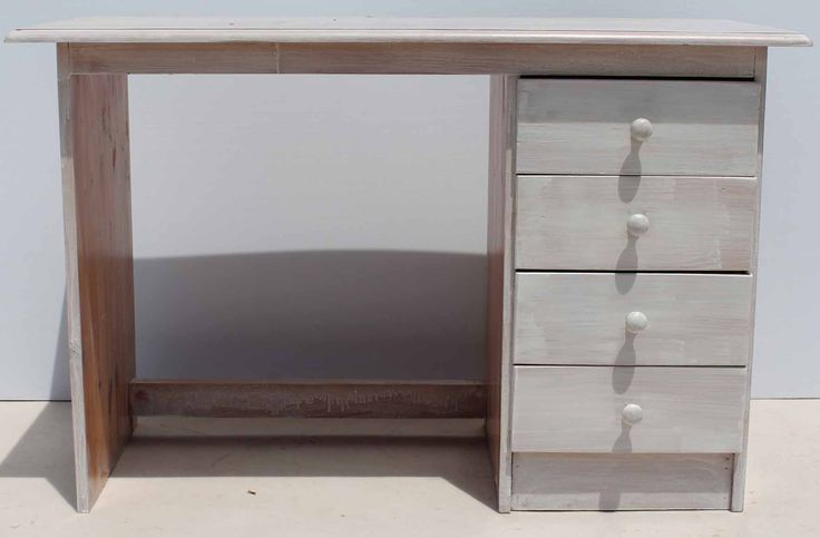 Pine Limewashed Desk with Four Drawers on Right Condition:  Used  Pine Limewashed Desk with Four Drawers on Right  size: 1160 L x 550 W x 770 H  @R400  Call 076 706 4700  www.furnicape.co.za  1104