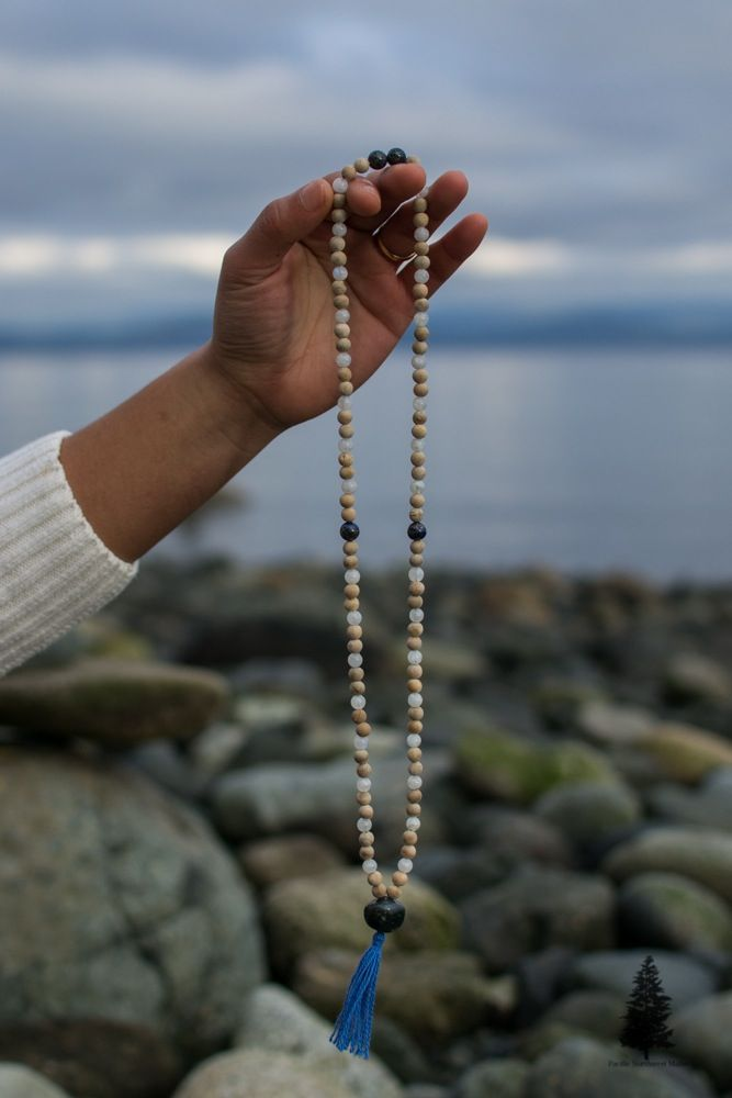 Growing to the Stars Mala This mala will help you to reach for the stars and your dreams while grounding into the divine mother. The stones in this...