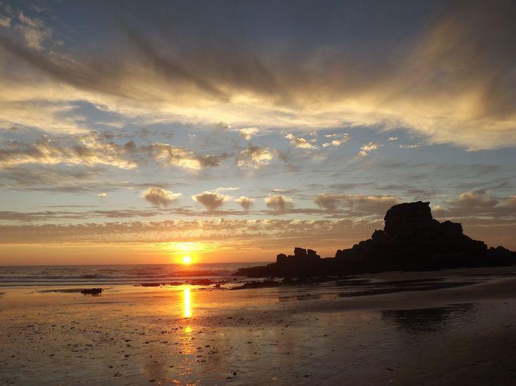 Praia do Castelejo, Cordoama e Barriga (Vila do Bispo) (***)-É o mais belo por do Sol de Portugal?