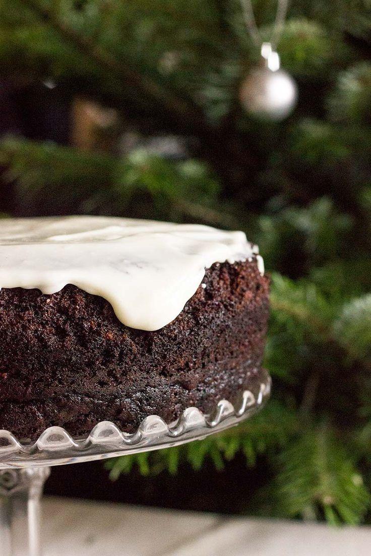 A chocolate guinness cake recipe, perfect for Christmas