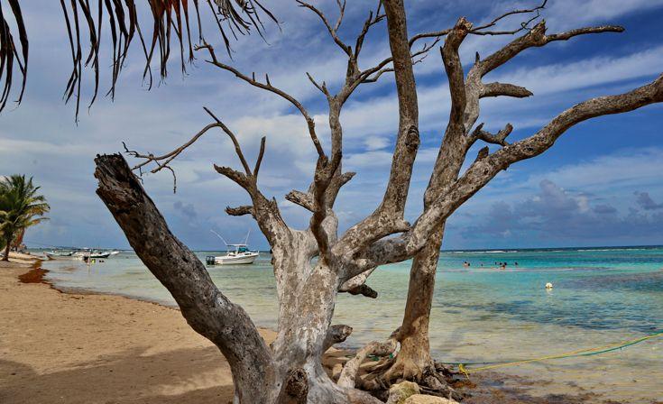 La quiete totale, il senso di pienezza e tranquillità ti invadono quando sei circondato dalla sabbia bianca e delle acque cristalline del Mar dei Caraibi.