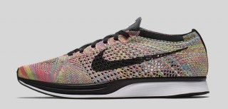 """Nike Releases the Flyknit Racer """"Rainbow""""   Highsnobiety"""