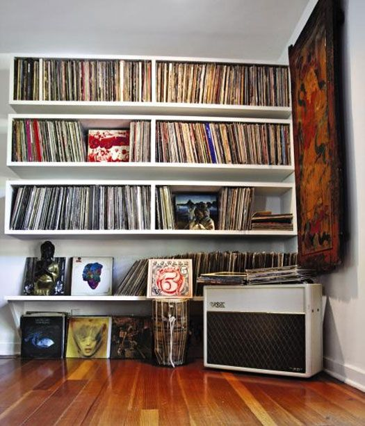 Chris Robinson's record collection from Sound + Vision.