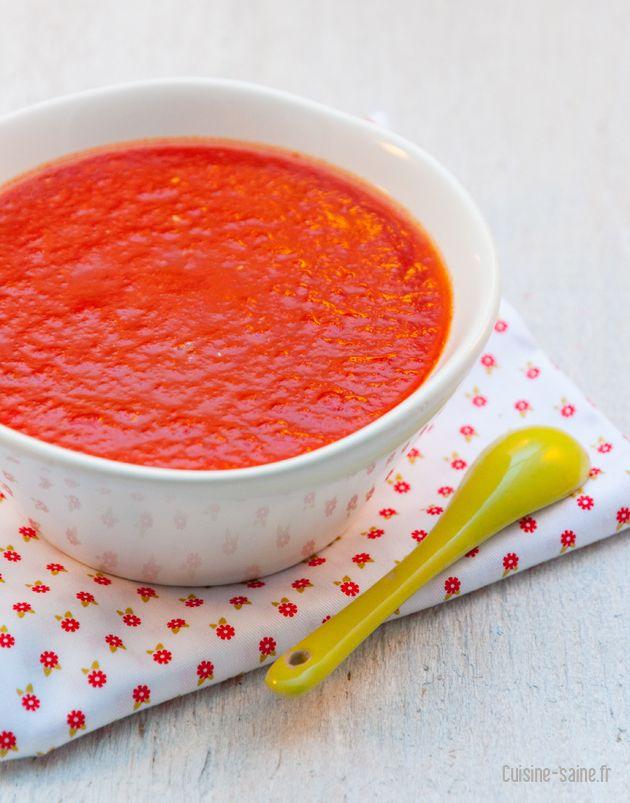 Recette bio : coulis de tomate express