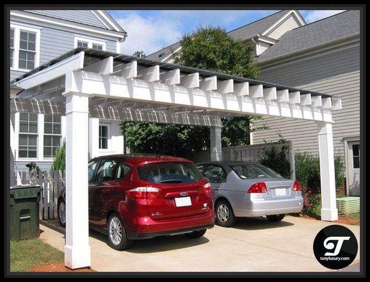 Pergola Style Carport - Home & Kitchen