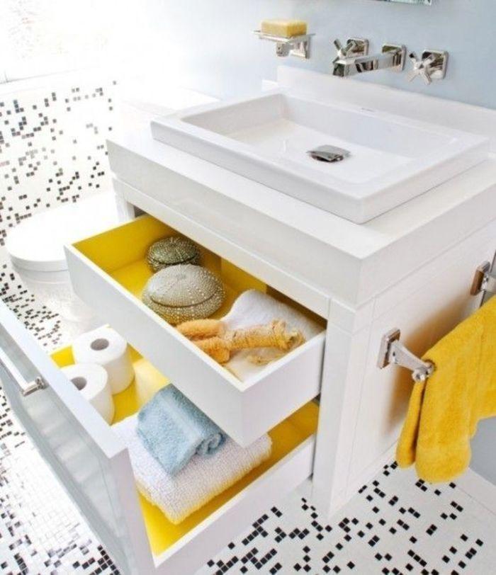 Желтые ванные комнаты: 15 примеров – Вдохновение