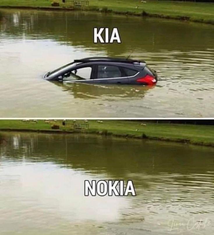 Flachwitz der Woche: Was Kia und Nokia verbindet