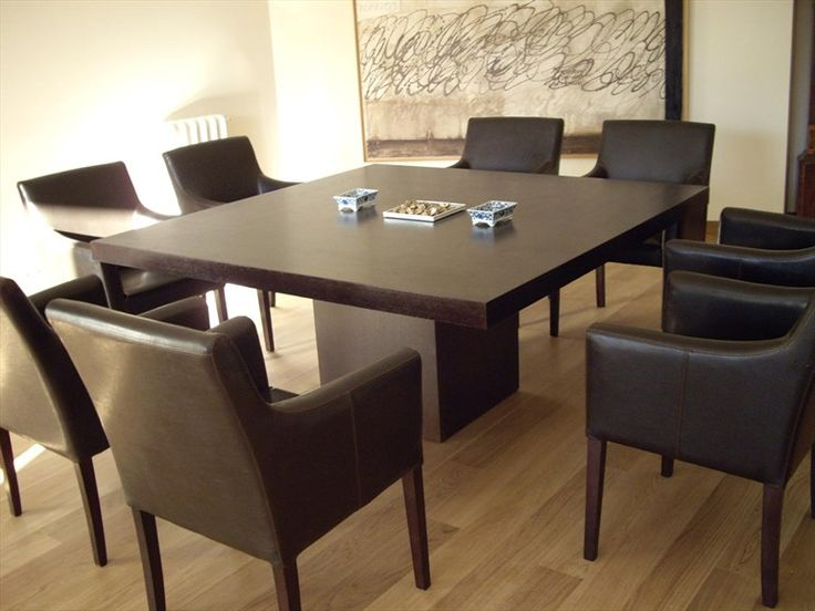 Best  Square Dining Tables Ideas On Pinterest Custom Dining - Large square dining table