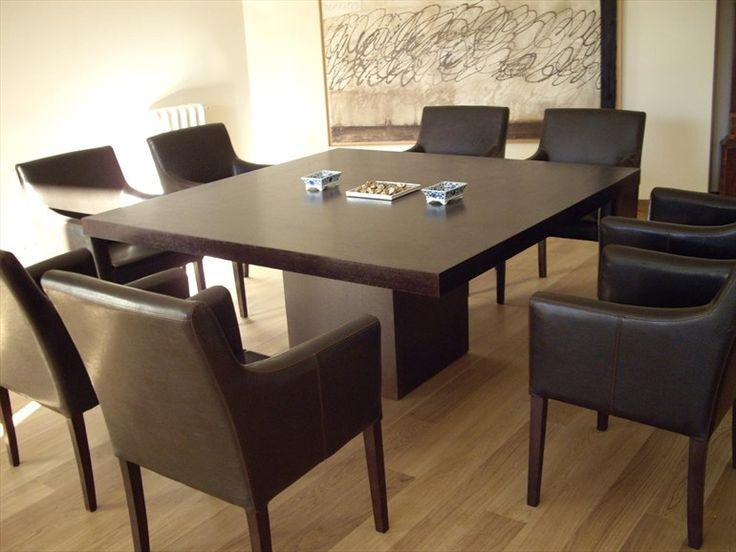 Large Square Table Part - 17: Square Dining Table Capela Collection By Gonzalo De Salas