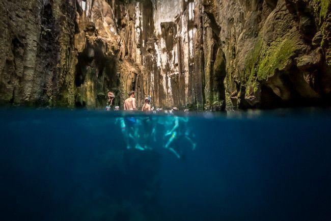 Limestone Caves: Fiji