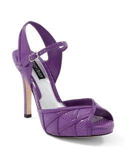 1000  ideas about Purple High Heels on Pinterest | Purple pumps ...