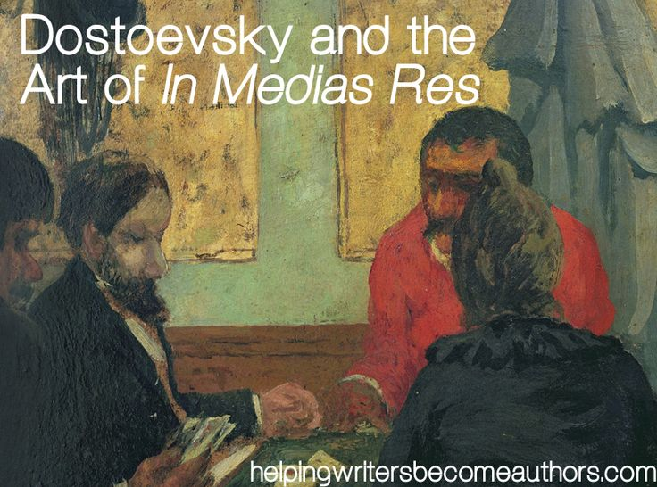 Strictly from a writer's viewpoint, Dostoyevsky's The Gambler offers a fabulous example of in medias res.