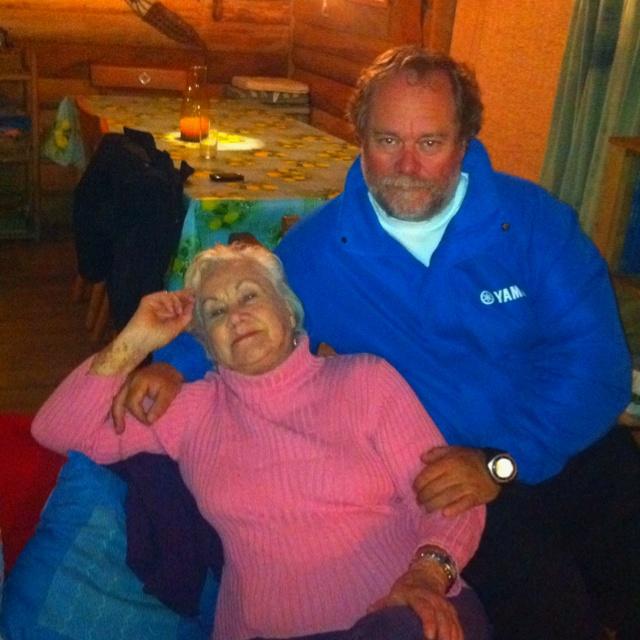 Con mamá en Quemchi