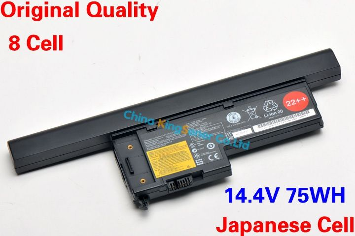 64.38$  Buy now - http://alie4j.worldwells.pw/go.php?t=32227349570 - 75WH Japanese Cell Original Quality New Laptop Battery for Lenovo ThinkPad X60 X60S X61 X61S FRU P/N 42T4632  ASM P/N 92P1172