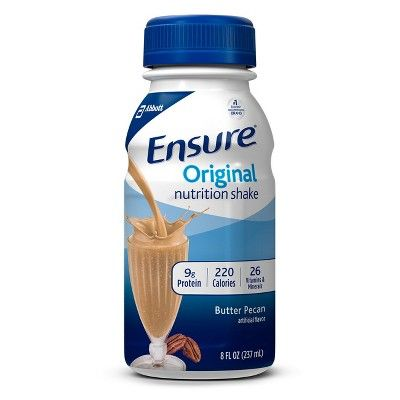 Ensure Butter Pecan Nutrition Shake - 6ct (8oz each)