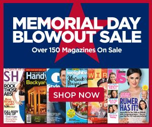 Discount Mags Memorial Day Blowout is here! Save on your favorite magazines! Pay as little as $4.99/year on magazines like Weight Watchers, US Weekly, Horse & Rider and more!  Click the link below to get all of the details ► http://www.thecouponingcouple.com/discount-mags-memorial-day-blowout/  #Coupons #Couponing #CouponCommunity  Visit us at http://www.thecouponingcouple.com for more great posts!
