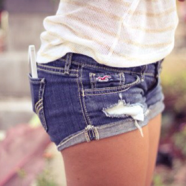 hollister jean shorts - photo #4