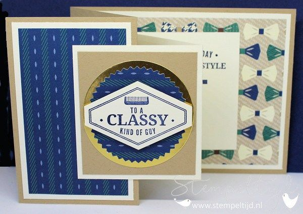 Truly Tailored Z-Fold Card - Stampin' Up!