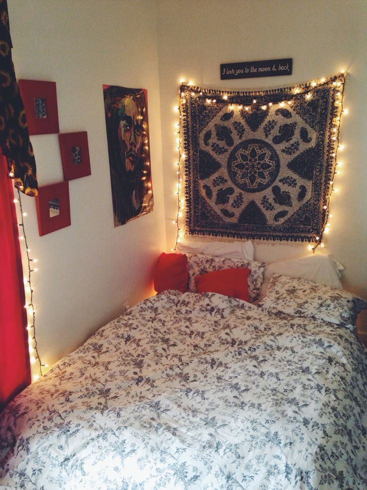 Bedroom Inspiration Fairy Lights