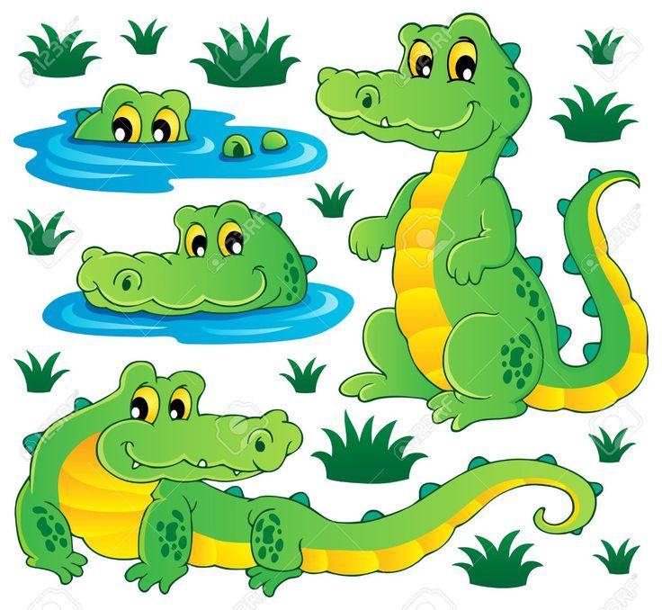 dibujos de cocodrilos a color - Buscar con Google