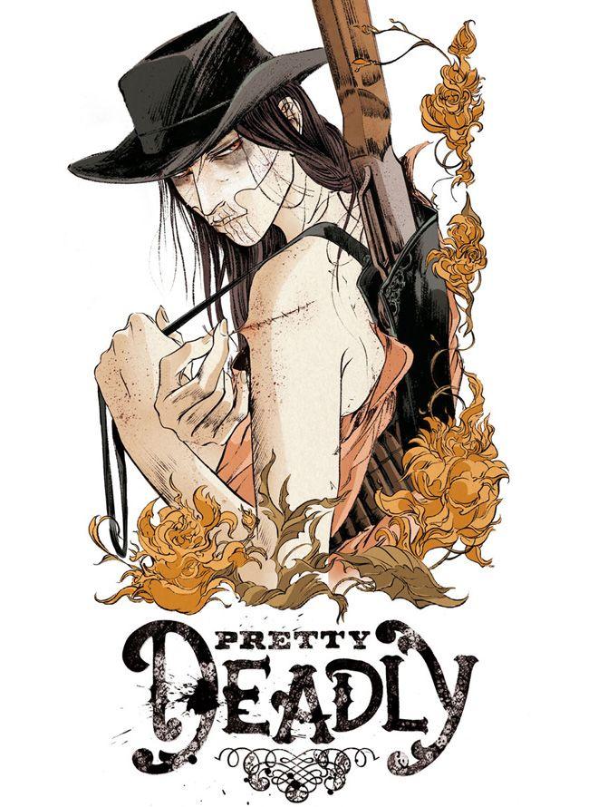 Artist:  Emma Rios:  Pretty Deadly, by Kelly Sue DeConnick and Emma Rios (Image, 2013)