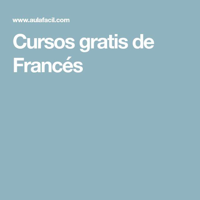 Cursos gratis de Francés