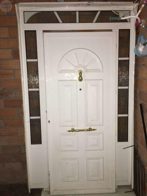 Mil Anuncios Com Puerta De Entrada De Aluminio Blanco Puertas De Entrada Aluminio Cosas De Casa