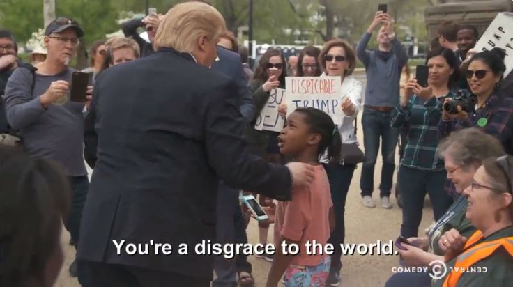 Attention! This Little Girl Is Not Addressing Real Donald Trump In Video ⋆ WayneDupree.com