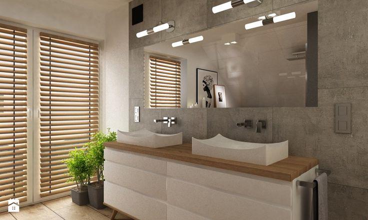 Łazienka styl Skandynawski Łazienka - zdjęcie od Grafika i Projekt architektura wnętrz