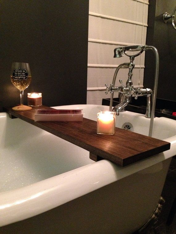 Hey, I found this really awesome Etsy listing at https://www.etsy.com/listing/262017463/rustic-bathtub-caddy-bath-tray-poplar