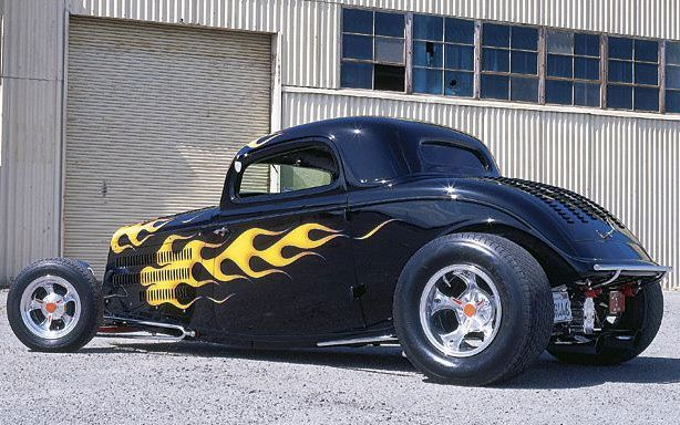 hot rod shop | : Cop Shop Coupe 1933 Ford Coupe Hot Rod | Tom Prufer | Featured Hot ...