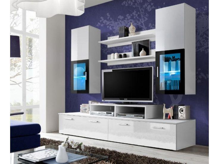Toledo 1 - Tv wall units 200 Width