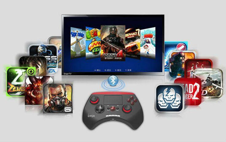 10 шт./лот Ipega PG-9028 5.5 Дюймов Игровой Контроллер Bluetooth Джойстик Геймпады 2.0 Дюймов Сенсорная Панель для Android IOS PC IP126-SZ