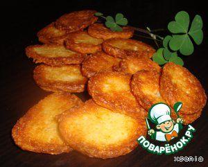 Сырное хрустящее печенье - кулинарный рецепт