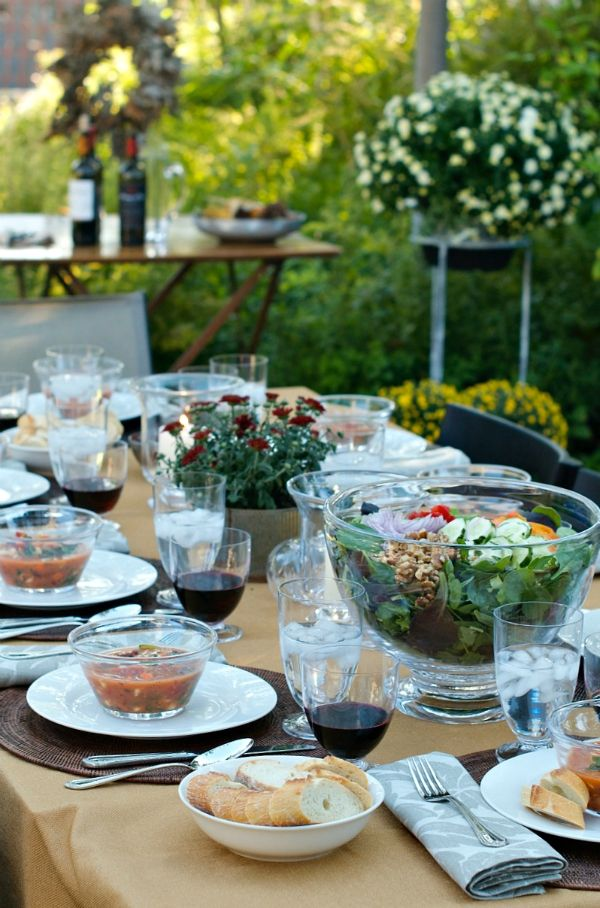 Garden Dinner Party Ideas Part - 49: 1121 Best Table Settings And Party Ideas Images On Pinterest | Tray Tables,  Decorations And Harvest Table Decorations
