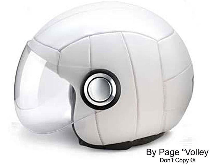 #Volley helmet