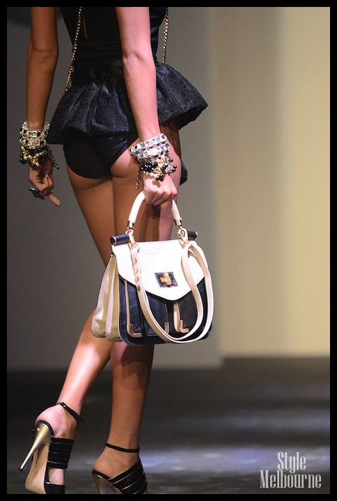 Totall love this bag from Mimco's 2012 Dreamwarp collection at LMFF...