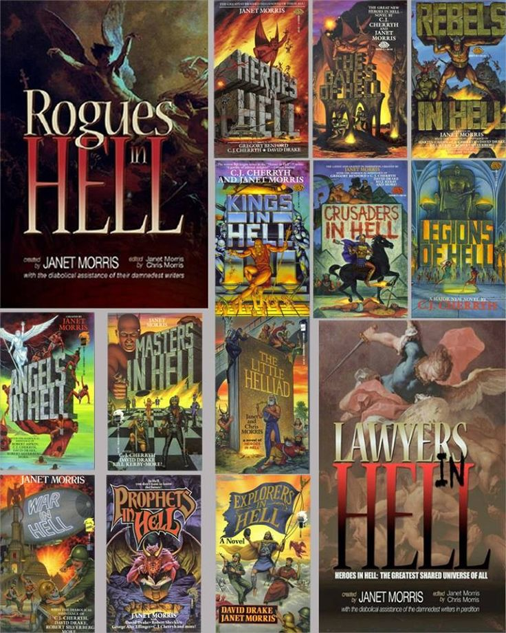 Heroes in Hell - the complete covers!