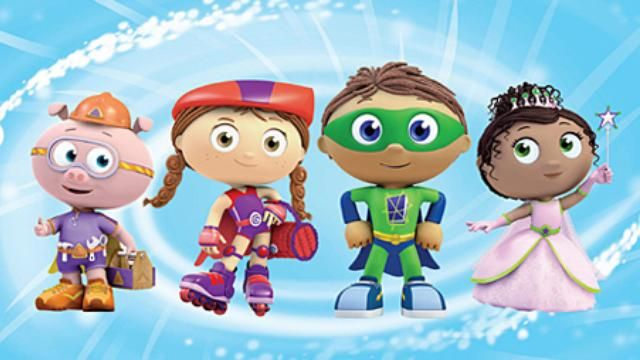 link to Super Why party games/activities + other ideas