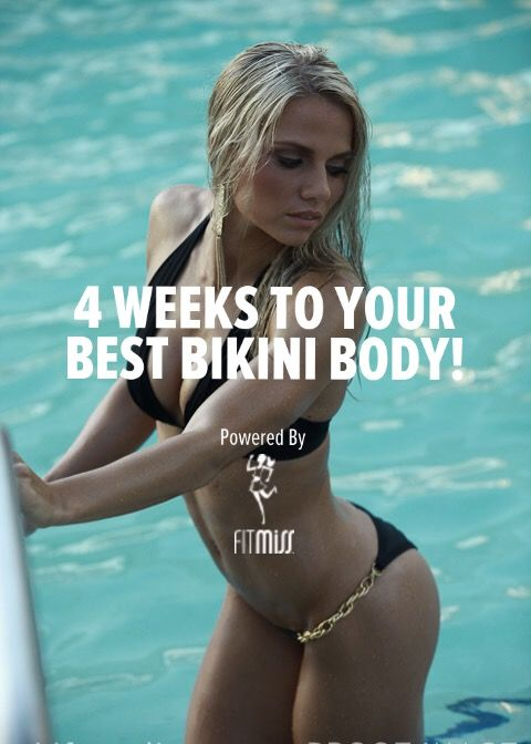 Summer is right around the corner and the secret to getting in shape in time is starting before it hits. Here is everything you need including a complete training, nutrition, and supplement guide so you can rock your best bikini body in just 4 weeks.