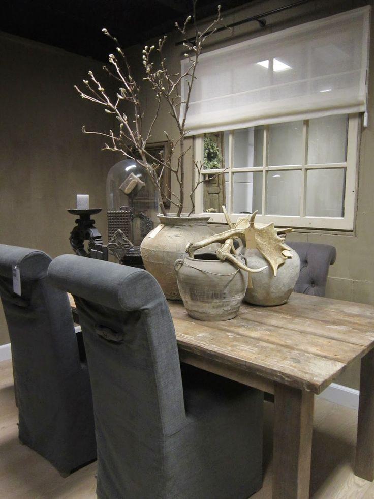 Landelijke decoratie eettafel bijzondere woondecoraties for Decoratie op eettafel