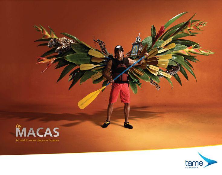 Fly Manta Arrived to more places in Ecuador Advertising Agency: La Facultad, Quito, Ecuador Creative Team: Sebastián Villagómez, Germán Andrade, Sa