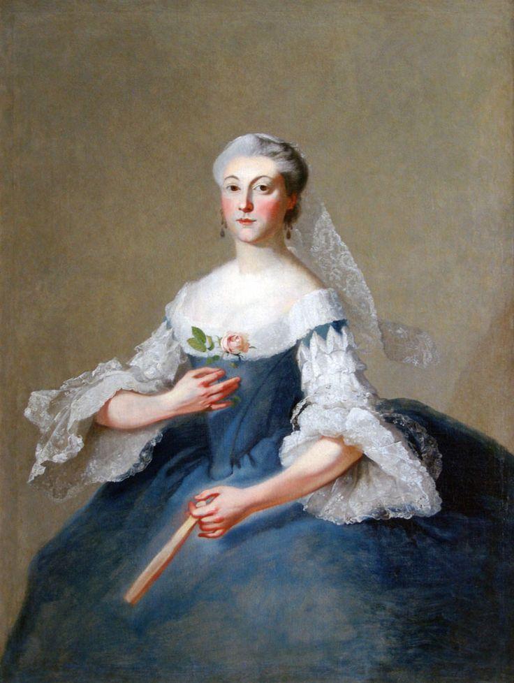 Maria A. Vorontsova by Georg Caspar von Prenner, 1750s